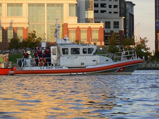 US Coast Guard joins the event