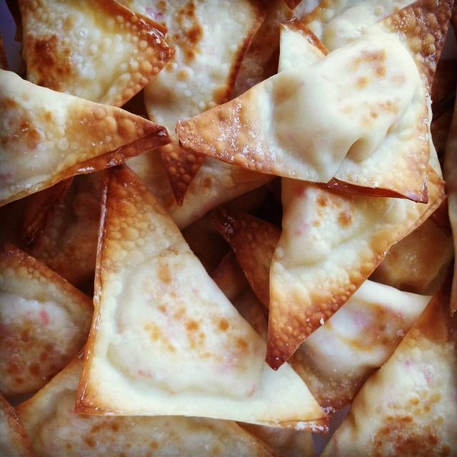 Baked Crab Rangoons Recipe. chinese food recipes, recipes, cooking