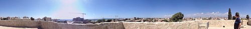 Panoramic view from the top of Limassol Castle