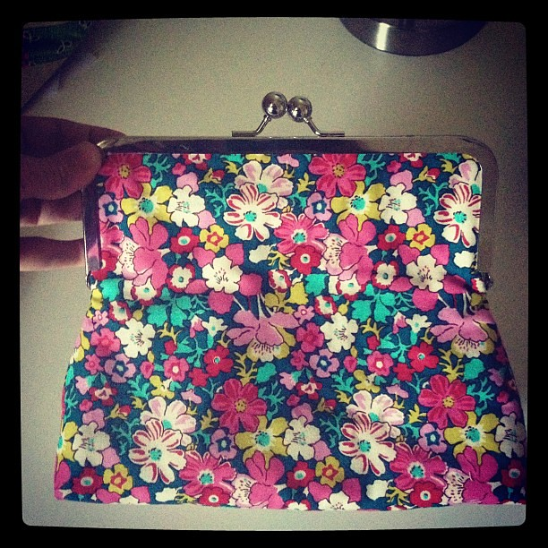 Extra large @Lib_Lifestyle pouch for @sewingsummit sample #sewingsummit