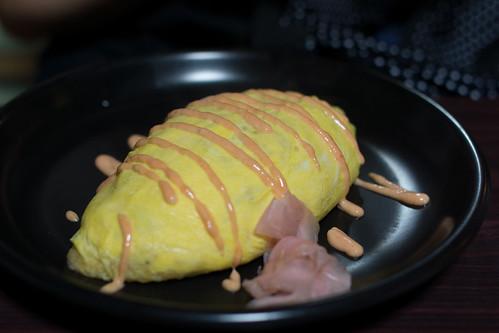蛋包飯キタタタ!!