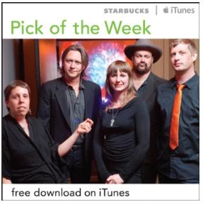 Starbucks iTunes Pick of the Week - Black Prairie - How Do You Ruin Me?