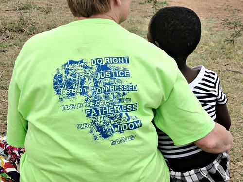Bheveni Carepoint DeNise Cason T-shirt orphans Swaziland