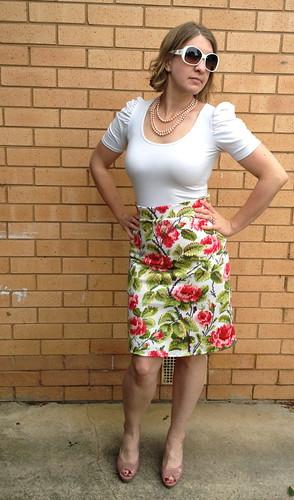 Burda Skirt 8281 Sassy