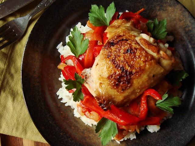 Chicken Basquaise | Flickr - Photo Sharing!