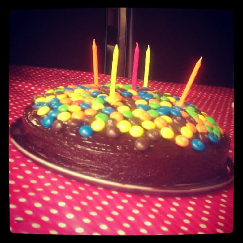 Verjaardagstaartje!