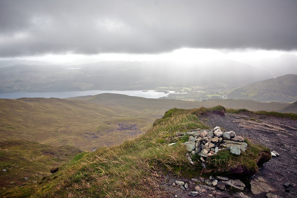Summit of Beinn nan Eichan