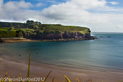 The beach of Dunmore East