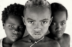 Madagascar, young children