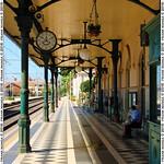 Banchina della Stazione Ferroviaria Taormina