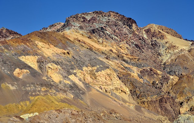 Patterns and Colors on a Hillside on Artist's Drive (Death Valley National Park)