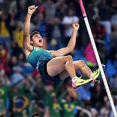 @theturbinecom  The #Turbine top 10 moments of the #rio2016 #olympics. Full link in bio. Number 5: home town hero @thiagobrazpv #athletics #fitness #breathe #polevault
