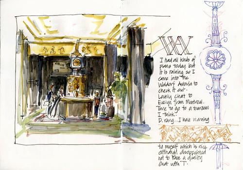 D15_FR20_02 Lobby of Waldorf Astoria