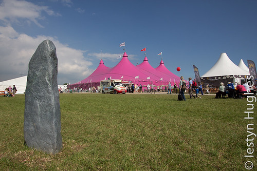 The National Eisteddfod of Wales. Image by: Iestyn Hughes (CC-BY-SA).