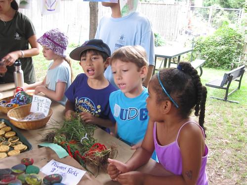 Market Day in the Children's Garden