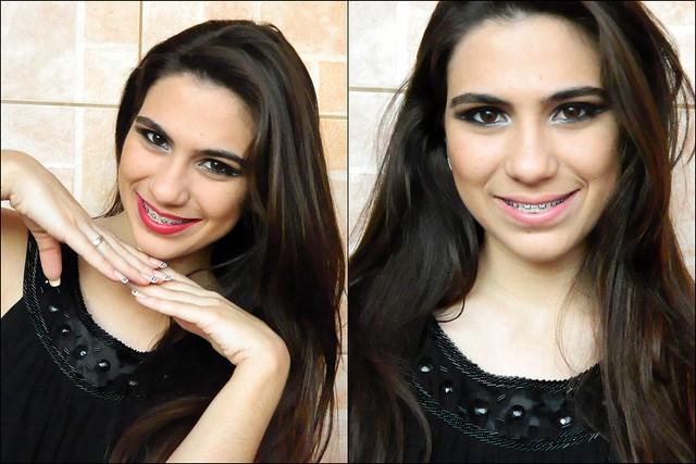 juliana leite foto tutorial make up maquiagem preta com prata batom vermelho ou nude para a noite para festa8-tile