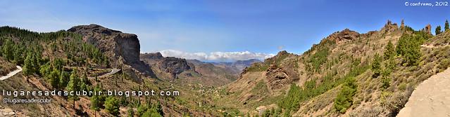 Subiendo al Roque Nublo (Gran Canaria, España)