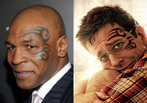 mike tyson tattoos