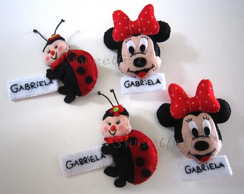♥♥♥ Para a Gabriela... by sweetfelt \ ideias em feltro