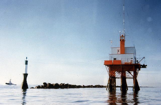 Sandheads Lighthouse c1985