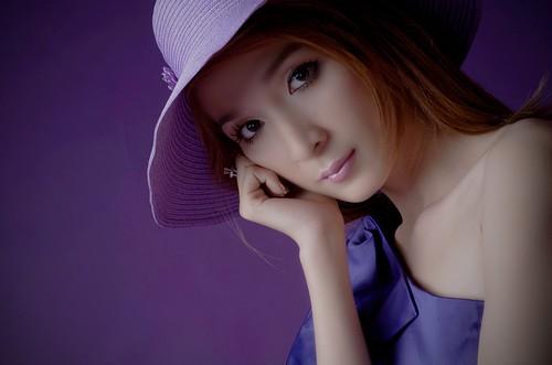 無料写真素材, 人物, 女性  アジア, ベトナム人, 帽子, 頬杖