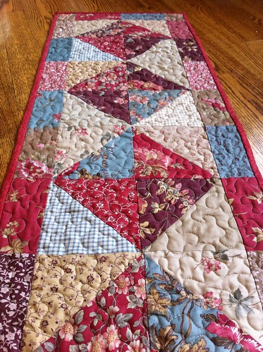Antique Fair Table Runner