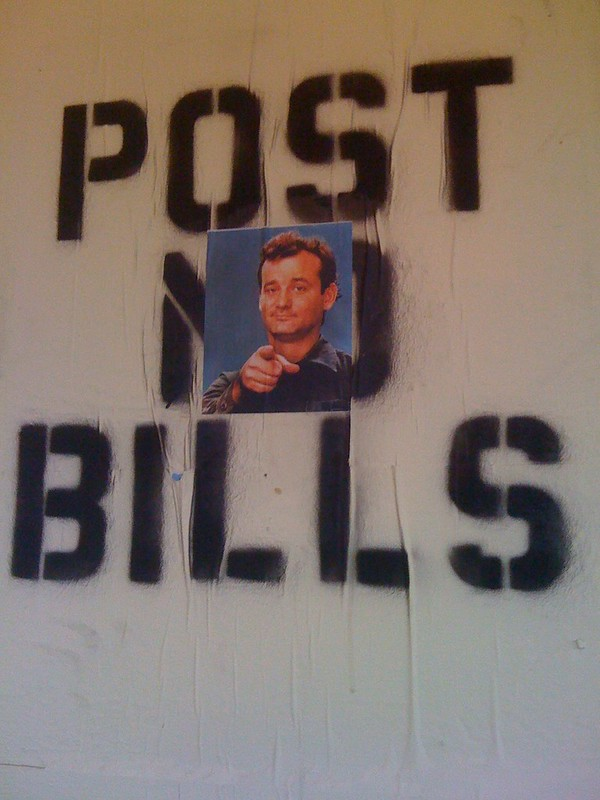 post bills