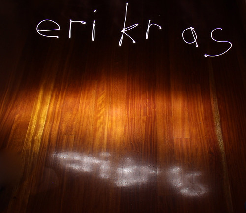 Light painting: erikras