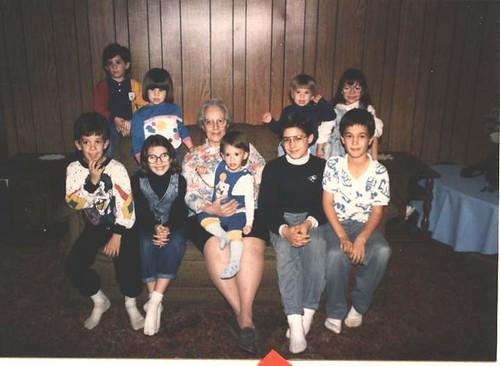1989 Mom and grandchildren