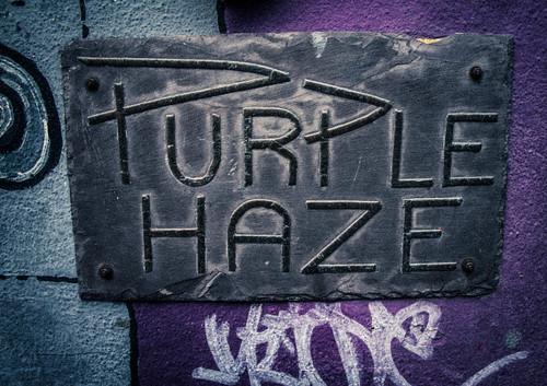 Purple Haze In Temple Bar by infomatique