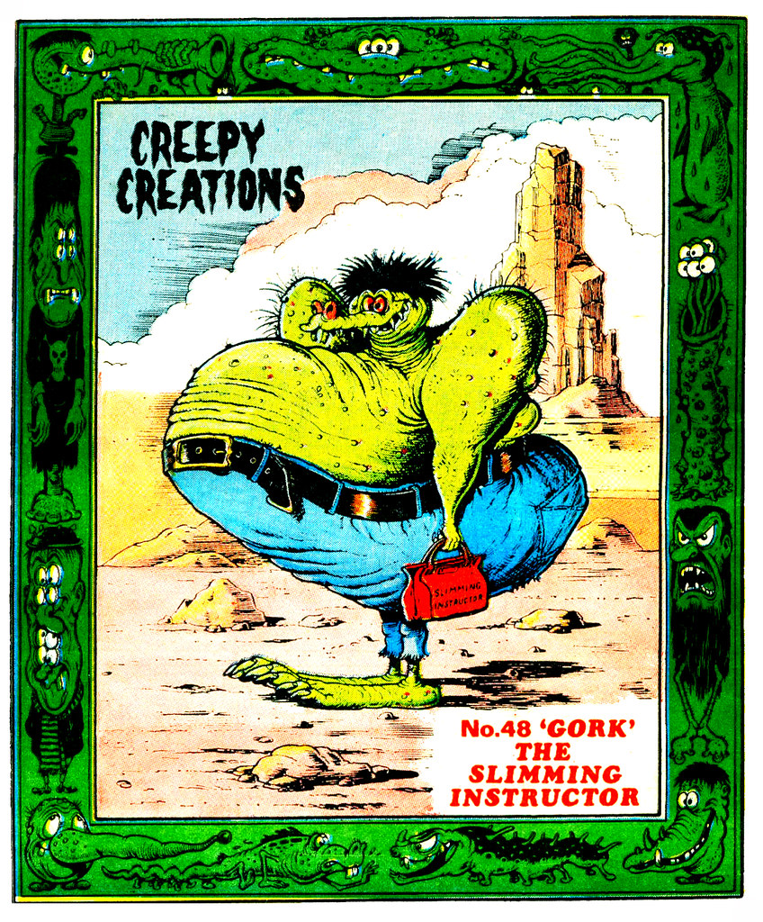 Creepy Creations No.48 - 'Gork' The Slimming Instructor