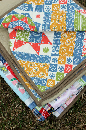 Rescused Logcabin Quilt by Jeni Baker