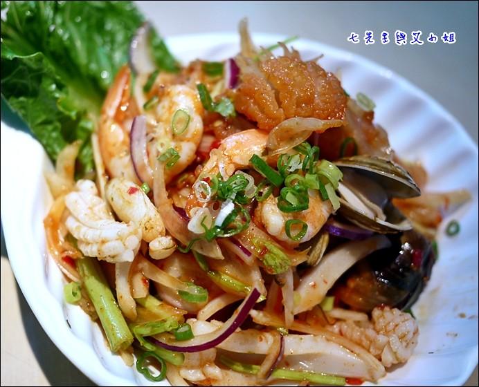 7 酸辣鮮蝦沙律