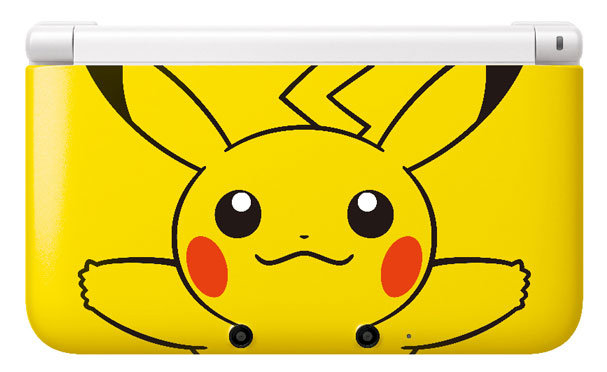 Nintendo 3DS XL Pikachu Yellow Edition Revealed