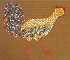 Chicken Collage Day 26 (August 17, 2012) by randubnick