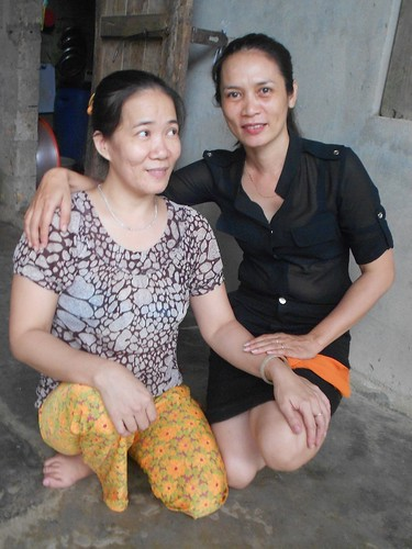 Ms. Cao with AEPD staff Xuan Dung Tran Thi