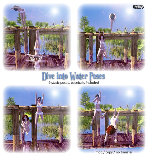 Dive into Water Poses