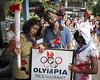 Zombie Olympians Visit Olympia by Laríssa