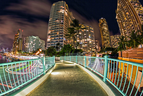 canon eos hawaii nightscape waikiki oahu cityscapes 15mm nightscapes canonef15mmf28fisheye markpayton canon5dmkiii 5dmkiii missoulaphotographer waikikimarinaresort markpaytonphotography