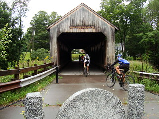 one of five (?) covered bridges