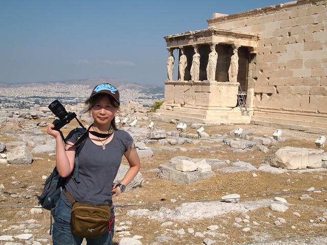 Acropolis of Athens, Aug 2012. O-047