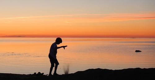 sunset summer sun holiday geotagged evening seaside cool nice sand nikon dusk drop shore serene gps ferie solnedgang kveld kalajoki støv aw100 sandsky hiekkasärkät kalajoen