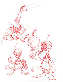 Ratchet & Clank Concept Art