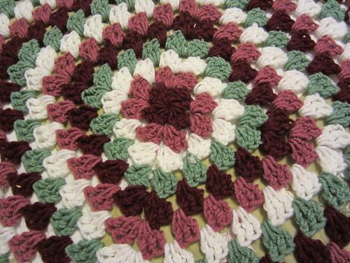 Crochet Granny Square Blanket 2