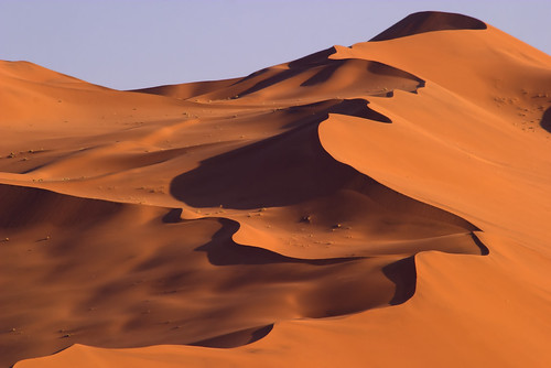 Dunes in Nambia