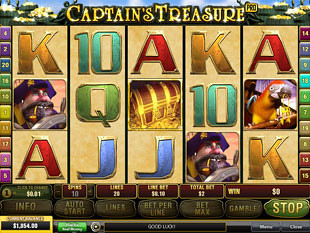 Captain's Treasure Pro Slot Machine
