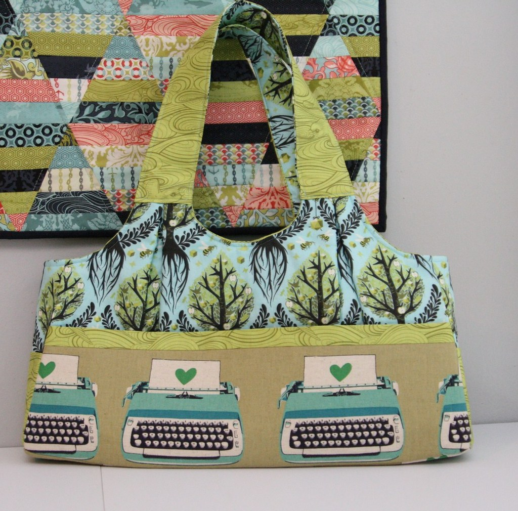 The Scoop Tote by Green Bee Patterns