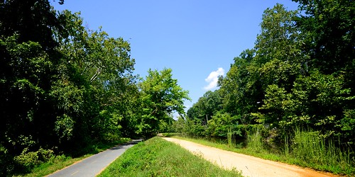 The Capital Crescent Trail, next to the C&O Canal towpath