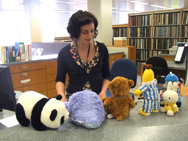 The staff at the State Library are so helpful!