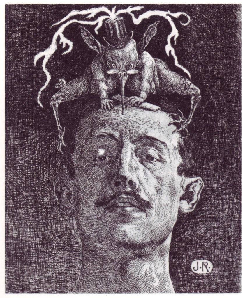 Julio Ruelas - Las Critica, 1906